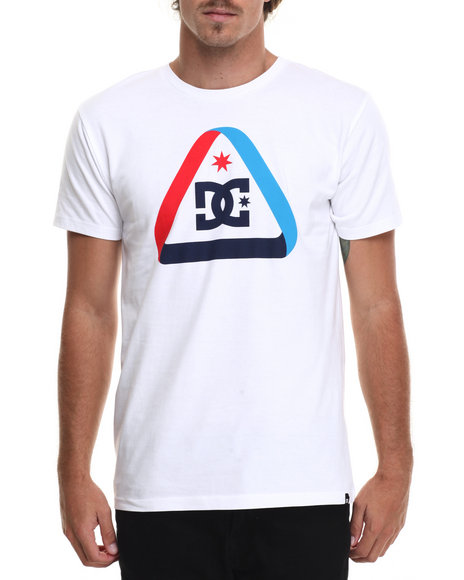Dc Shoes - Men White Minimalist Ss Tee