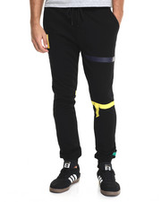 Jeans & Pants - Color Tape Fleece Joggers