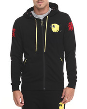 Bass By Ron Bass - Happiness Zip - Up Hoodie