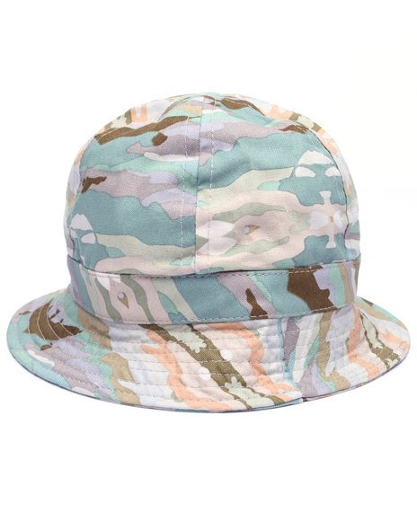 Altamont - Men Camo,Green Paint By Camo Bucket Hat - $38.00