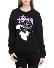 Sweatshirts - Stussy Rose Sweatshirt