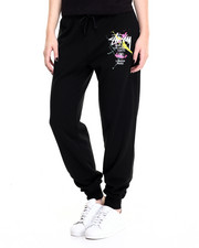 Women - Stussy Logo Splatter Paint Sweatpants
