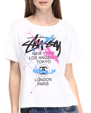 Women - World Tour Paint Splatter Tee