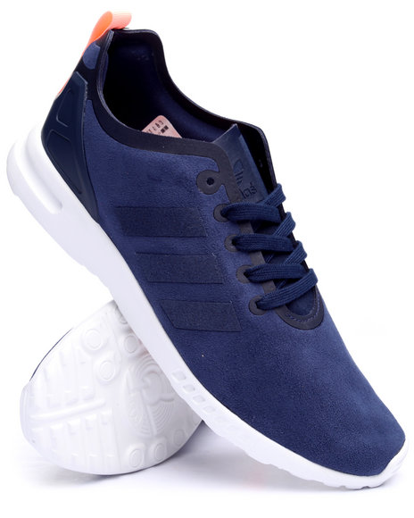 Adidas - Women Navy Zx Flux Smooth W Sneakers