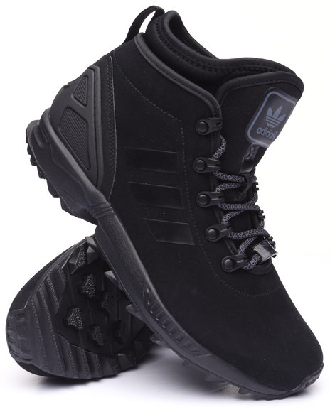 Adidas - Men Black Zx Flux Winter Leather Sneakerboot (Unisex) - $110.00