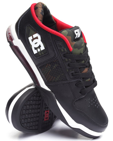 Dc Shoes - Men Black,Camo Ryan Villopoto Se Sneaker - $110.00