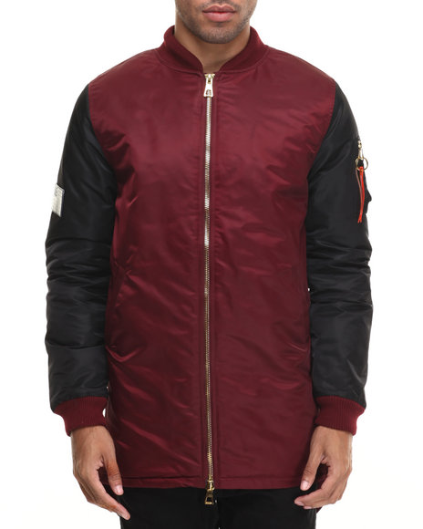 Maroon Light Jackets