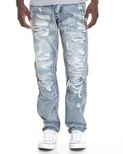 Men - Patch Work Denim Jeans