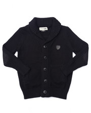Boys - SHAWL CARDIGAN SWEATER (4-7)