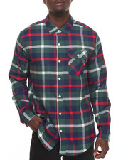 Buyers Picks - Deerfield Flannel L/S Button-down