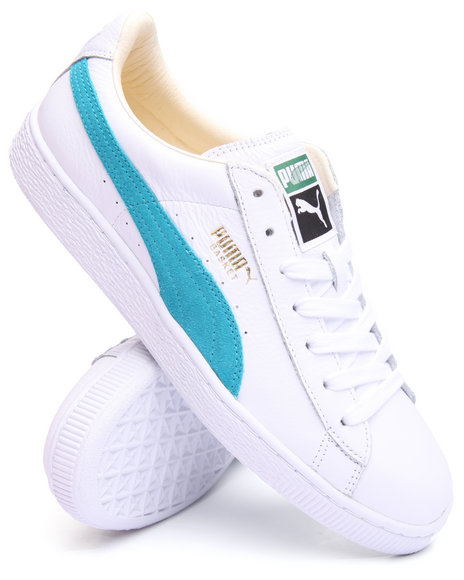 Puma - Men White Basket Classic