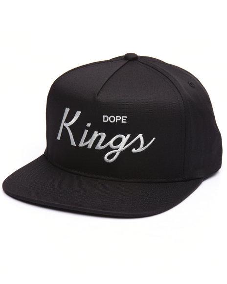 Dope Men Kings Snapback Black