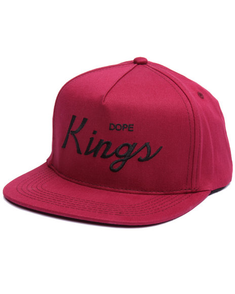 Dope Men Kings Snapback Red