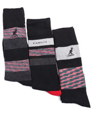 Black Friday Shop - Men - Space Dye Stripes Dress Casual 3Pk Socks