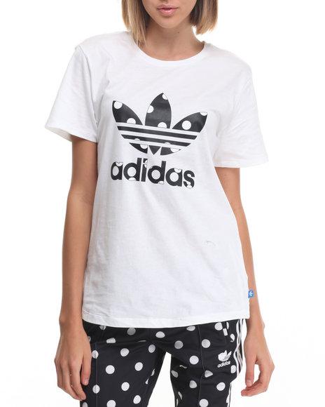 Adidas White Tees