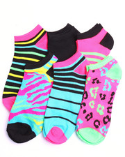 Black Friday Shop - Women - Animal House 6Pk No Show Socks