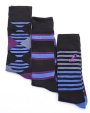 Men - Simple Arguiles Dress Casual 3Pk Socks
