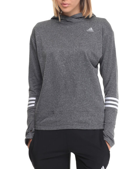 Adidas - Women Black Response Icon Hoody