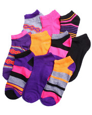 Black Friday Shop - Women - Aztec Geo 10Pk No Show Socks