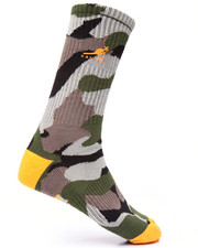 Socks - Camo Fly Crew Sock