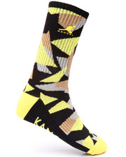 Men - Fragments Printed Crew Sock