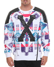 Men - X Native - Printed Crewneck Sweatshirt