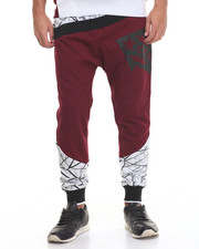 Jeans & Pants - Mixed - Print Fleece Joggers