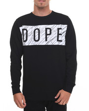 Men - Concentric Crewneck