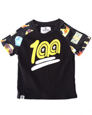 Sizes 2T-4T - Toddler - EMOJI RAGLAN TEE (2T-4T)