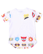 Boys - ELONGATED EMOJI TEE (2T-4T)