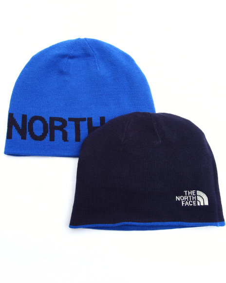 The North Face Men Reversible Tnf Banner Beanie Blue