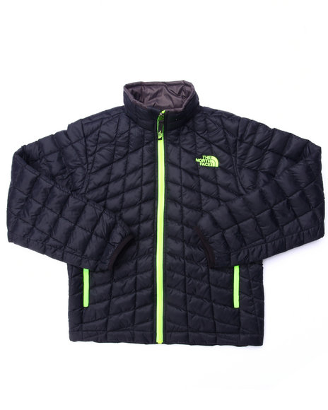 The North Face - Boys Black Thermoball Full Zip Jacket (4-20)