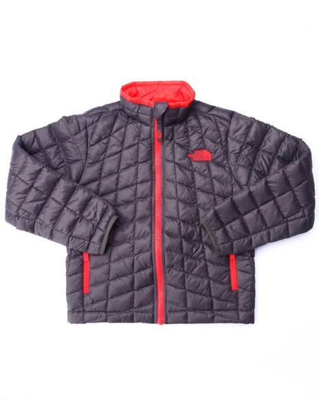 The North Face - Boys Grey Thermoball Full Zip Jacket (4-20)
