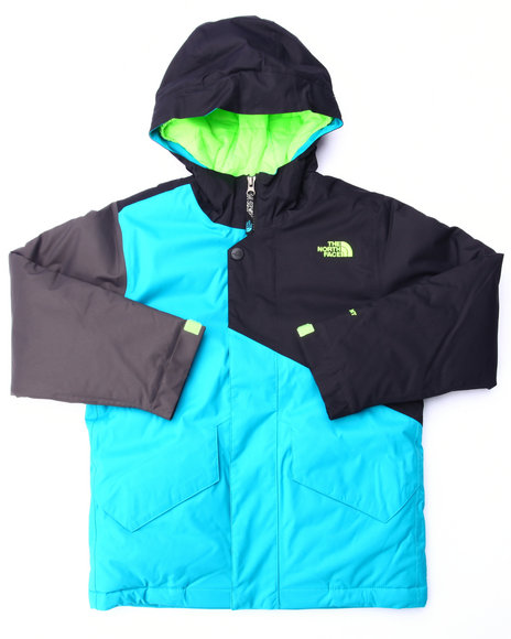 The North Face - Boys Teal Calisto Insulated Jacket (4-20)
