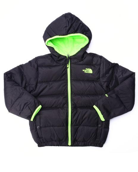 The North Face - Boys Black Reversible Moondoggy Jacket (4-20)