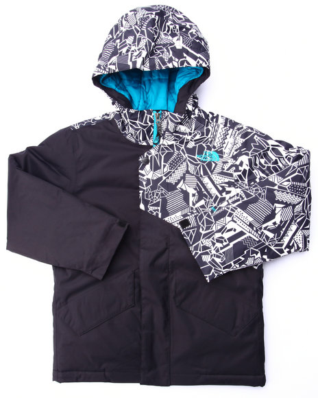 The North Face - Boys Black Calisto Insulated Jacket (4-20)