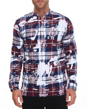 Men - Ink Study Flannel Tunic