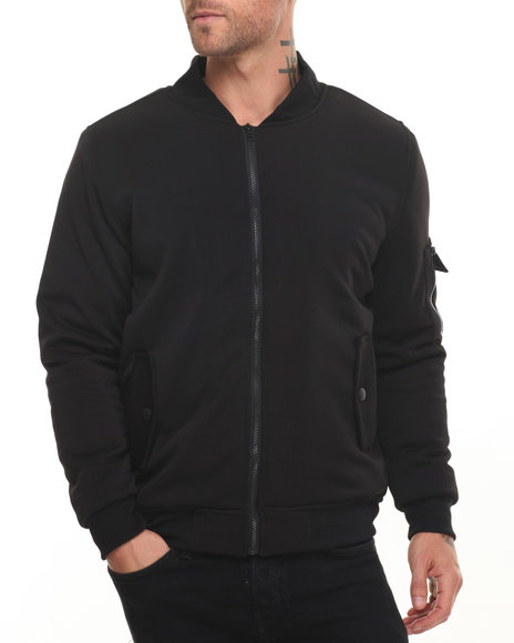 Buyers Picks Men M-1 Neoprene Jacket Black Large