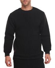 Men - Pop Up Quilted Fleece Crew