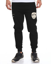Jeans & Pants - Masks Chenille - Trim Fleece Joggers