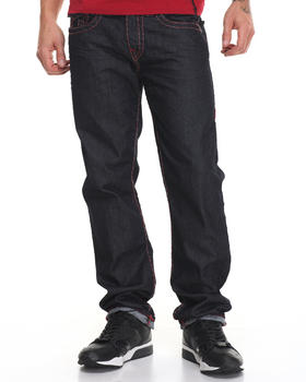 Slim - Red Heather Stitch Super T Geno Jean