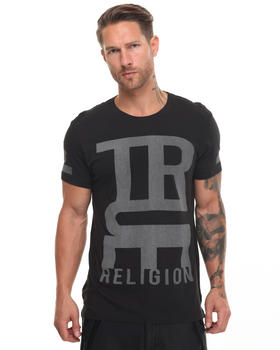 True Religion - Mono Graphic Elogated Tee