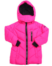 Outerwear - BUBBLE JACKET W/ VESTEE (2T-4T)