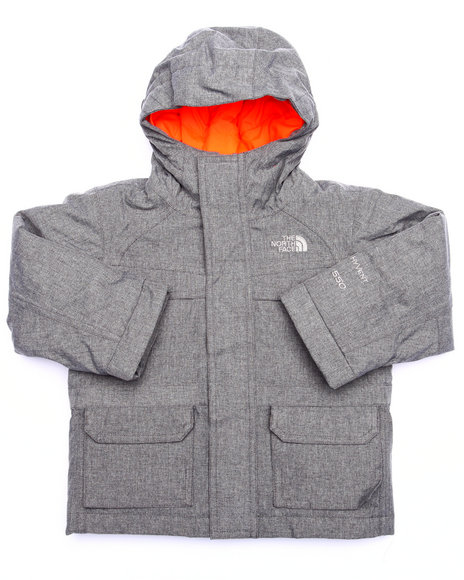 The North Face - Boys Grey Mcmurdo Down Jacket  (2T-4T)