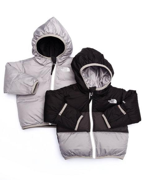The North Face - Boys Black Reversible Moondoggy Jacket (Infant)