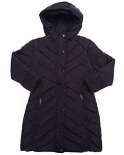 Outerwear - LONG BUBBLE COAT (7-16)