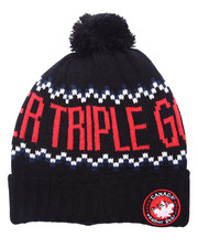 Men - Canada Weather Gear Knit Pom Beanie