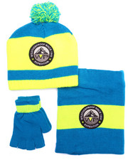 Boys - 3 PC STRIPED COLD WEATHER SET (8-20)