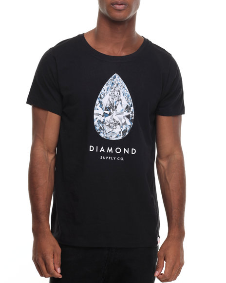 Diamond Supply Co Men 101 Carats Tee Black Small