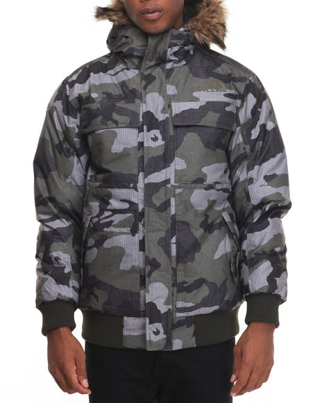 The North Face - Men Camo Gotham Jacket